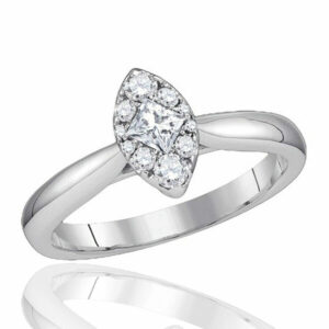 2 Ct Marque Diamond Ring